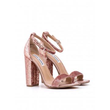 sandals woman steve madden sms carrsons rose gold sequins 821
