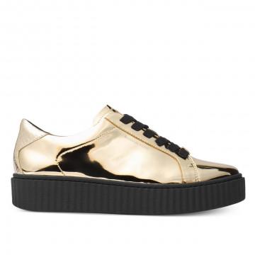 sneakers woman michael kors 43f7trfs1mtrevor lace up