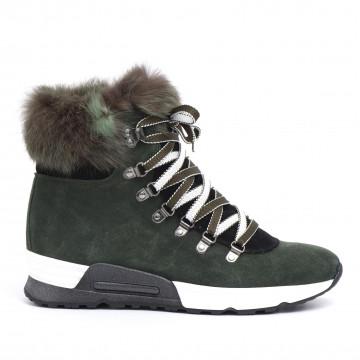 sneakers woman joyks 4124 pcamoscio verde 2499
