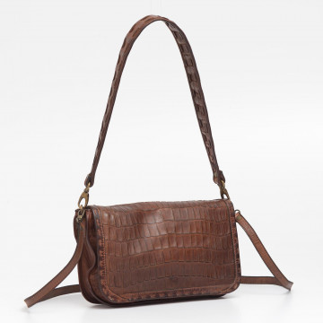 clutches woman reptiles house h 390lucy cognac 2599