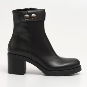 booties woman laura bellariva 9077 090calf nero 2085