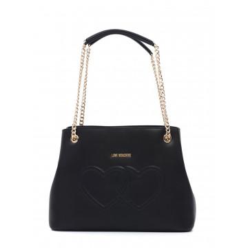 handbags woman love moschino jc 4290 kl0000 lamb nero 1610