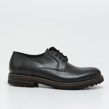 lace up man cavallini 10island nero 2053