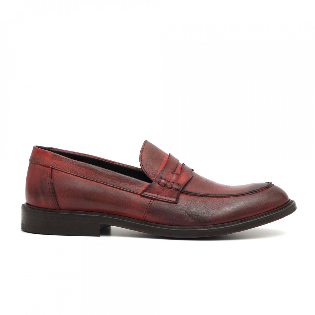 loafers man pawelks 16621tuff rosso 2701