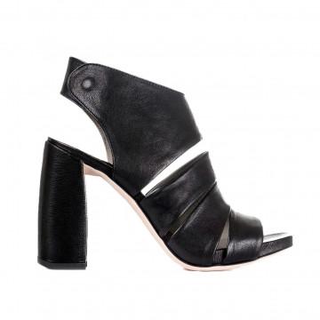 sandals woman ixos x18e45111mulan nero 2849