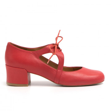 lace up woman audley 20451fresa red 2855