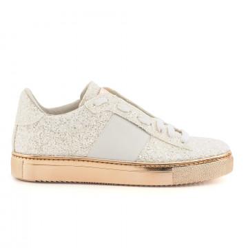 sneakers woman stokton 650 dglitter bianco 2947