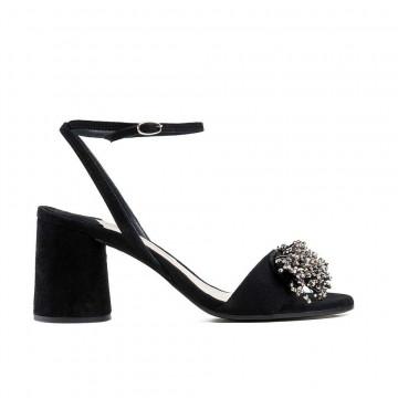 sandals woman roberto festa c1027 assiacamoscio nero 2963