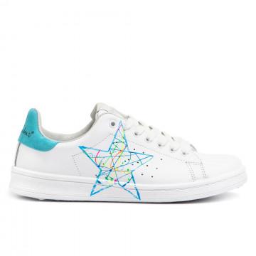 sneakers woman nira rubens dast96blue fluo 2965