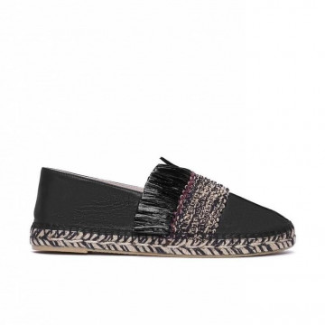 slip on woman paloma barcelo ruscopuntiraf black 3071