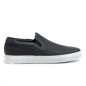 slip on man stokton skaters utreccia blu 3089