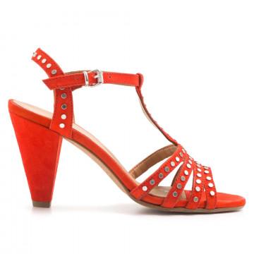 sandals woman janet  janet 41356mango fiamma 3175
