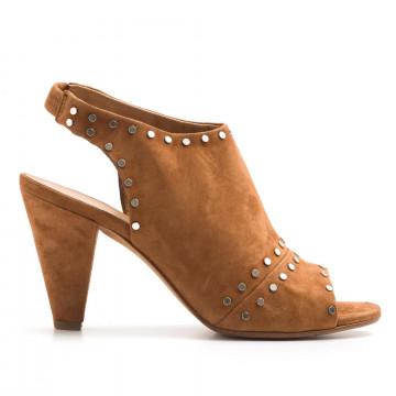 sandals woman janet  janet 41358mango cuoio 3176