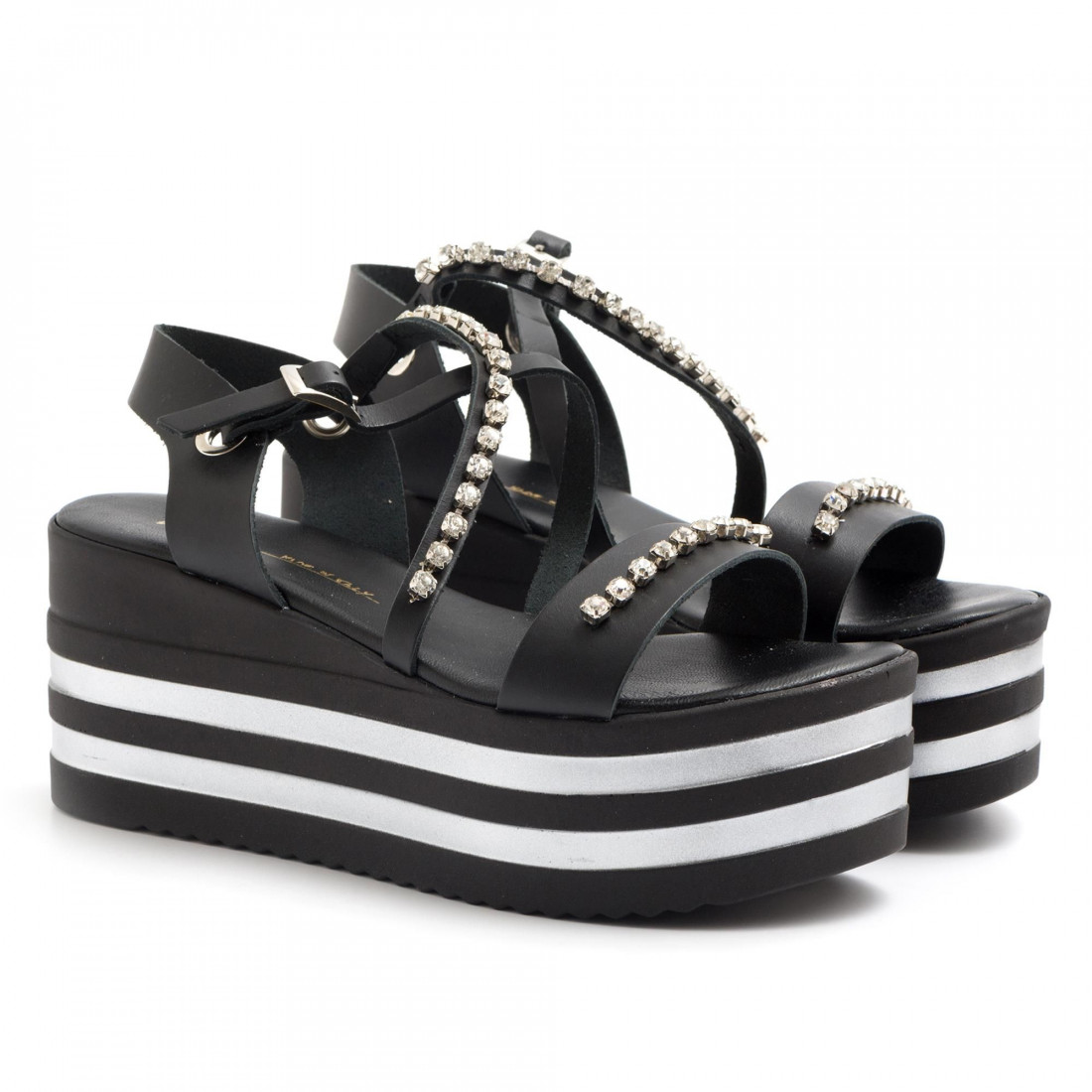 sandals woman le barbottine  2060vacc nero 3198