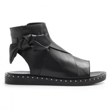 sandals woman janet  janet 41012lotus nero 3200