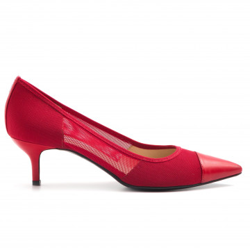 pumps woman roberto festa 51007 fuby50 smooth rosso 3210