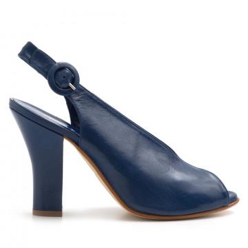 sandals woman greta ingrid 1906capra bluette 3222