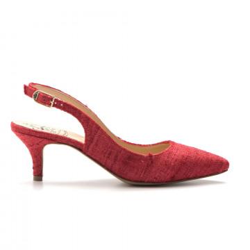 stckelschuhe damen larianna ch 2000canvas rosso 3232