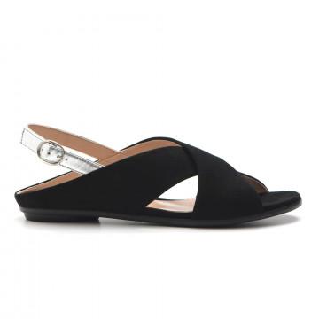 sandals woman sangiorgio 943 38735cam nero 3267