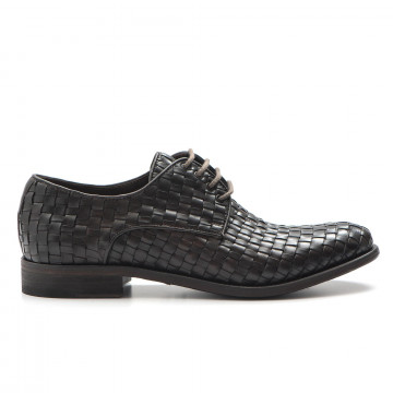 lace up man brecos 762217224 intreccio ciocco 3276