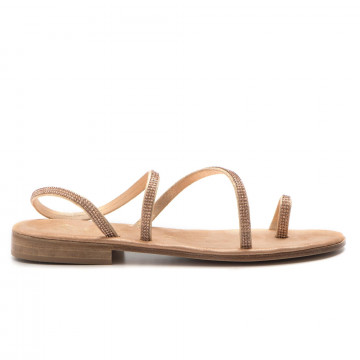 sandals woman balduccelli k24burma platino 3287