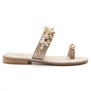 sandalen damen balduccelli k18burma platino 3289