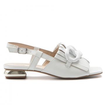 sandals woman jeannot 54015bicap bianco 3338