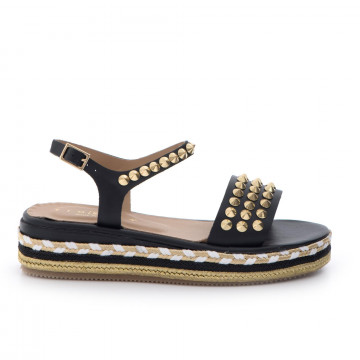sandals woman fiorina  s164 cp400vitello  nero 3371