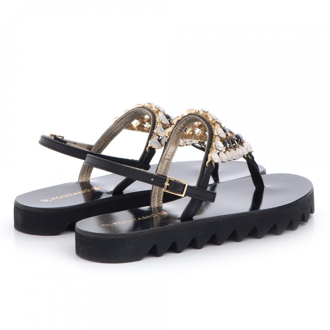 sandals woman positano 4911vit nero 3401