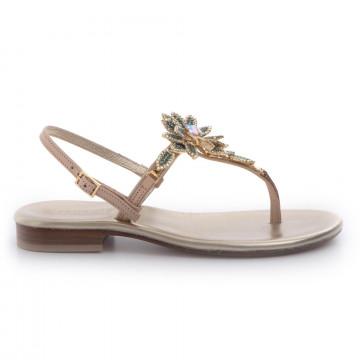 sandals woman positano 4929vall naturale 3402