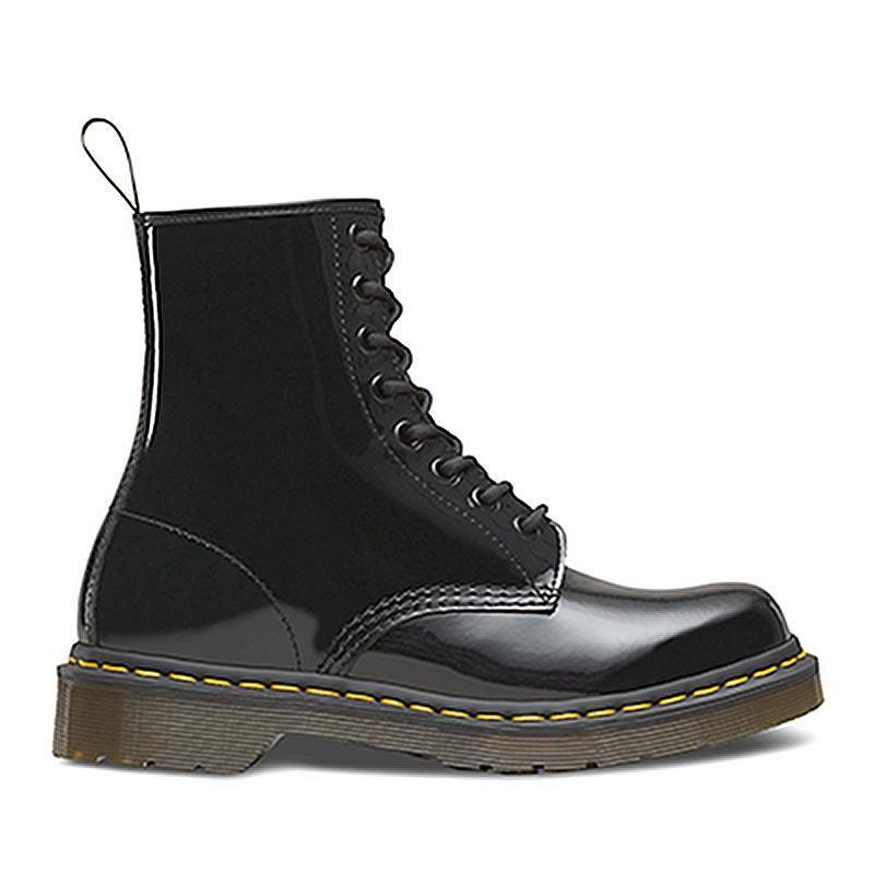 5998b2a4f ... women's dr. martens 1460 black patent lamper. military boots woman  drmartens dms1460bp11821011 3716