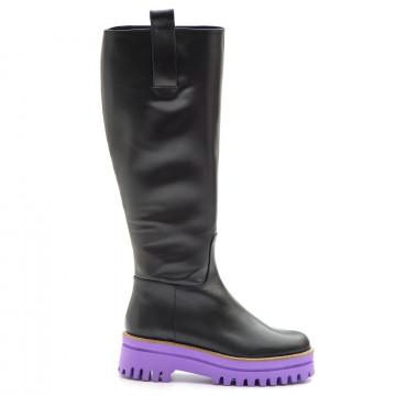 boots woman paloma barcelo m120tol black mora 3765