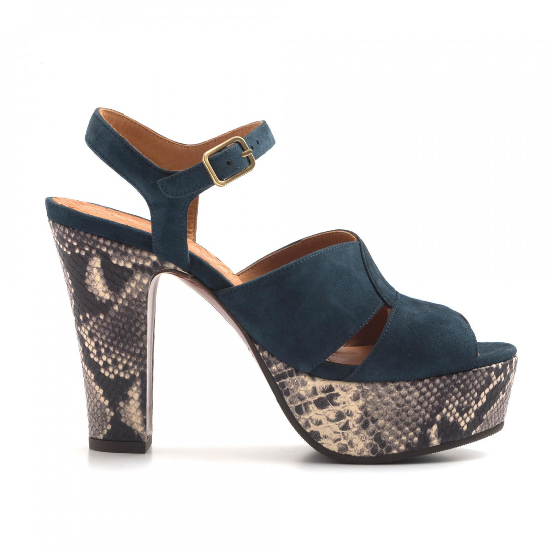 sandals woman chie mihara cm xiroante indigo 3000