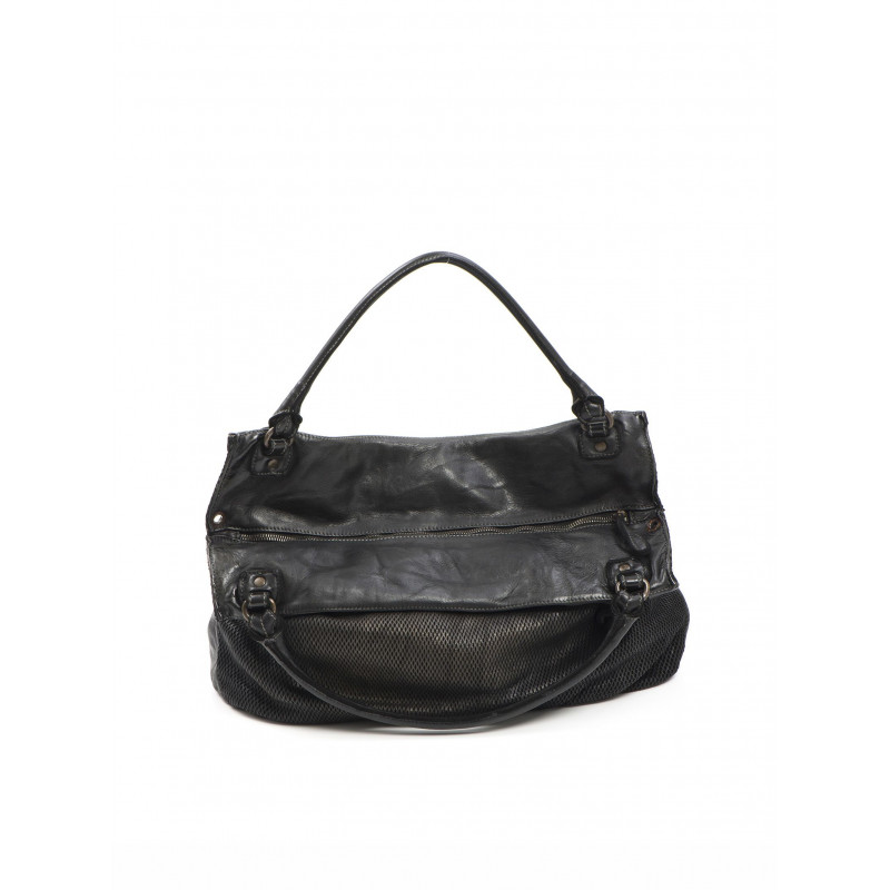 handbags woman reptiles house h 292 bee sh nero metal 499
