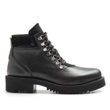 military boots woman keb 980soft nero 3781