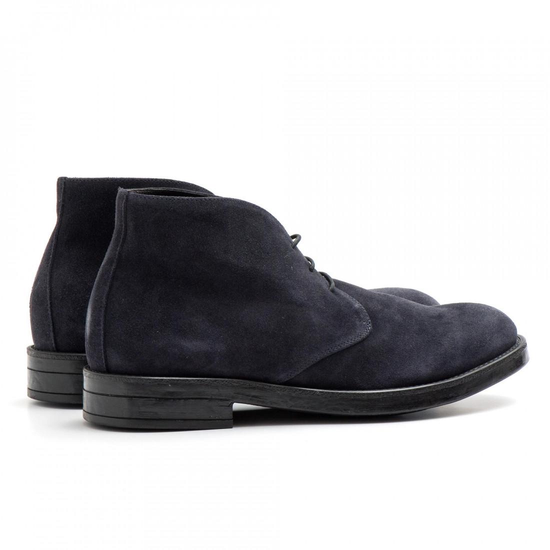 finest selection 3a39b d02cc Blue suede Eveet lace up ankle boots