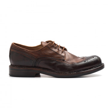 lace up man hundred m 88026 luxor brandy 3846