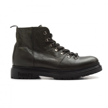 lace up ankle boots man pawelks 17033frozen militare 3865