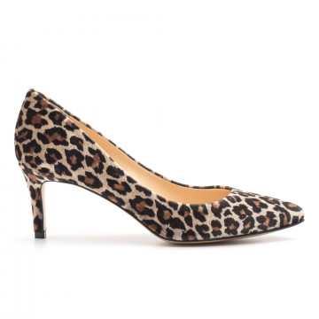 pumps woman larianna de 1111leopardo taupe 3905