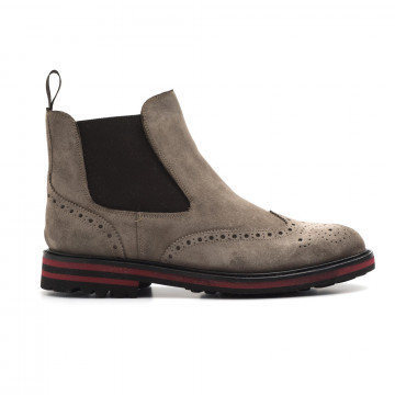 booties man brecos 808114444 go rain taupe 3920