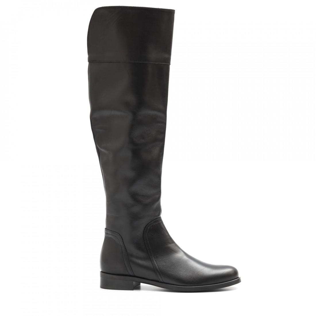 boots woman sangiorgio ng 781cuba nappa nero 4046