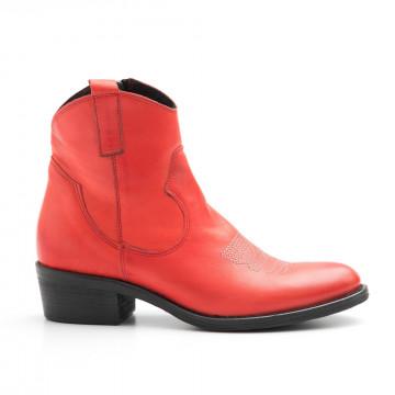 booties woman keb 357sa rosso 4051