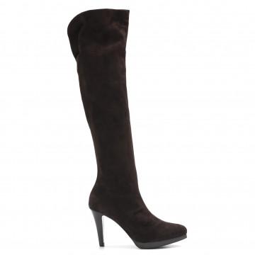 boots woman lorenzo masiero 51054063 velour tdm 4061