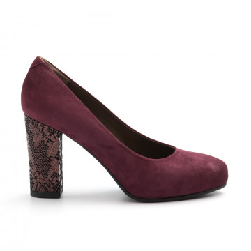 pumps woman calpierre dh957096 bordo 4067