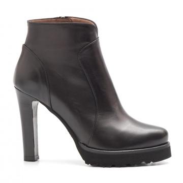booties woman sangiorgio 5660tr 20895piuma nero 3993