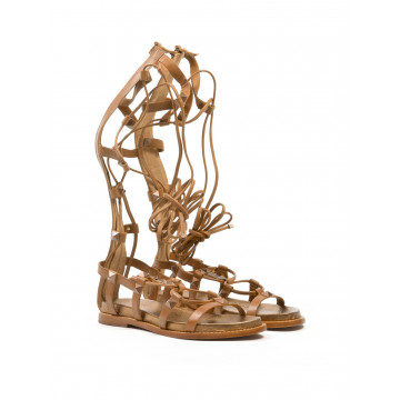 sandals woman ash miracle brasil camel 4112