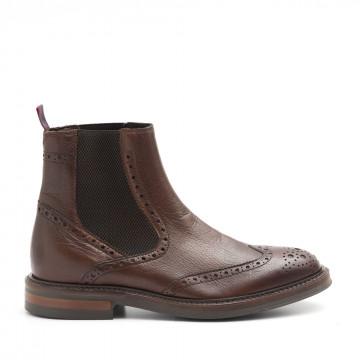 booties man marco ferretti 171423old positano brown 4124
