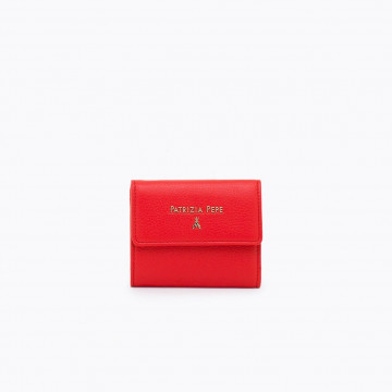 wallets woman patrizia pepe 2v8545 a4u8r631 deep mars red 4210