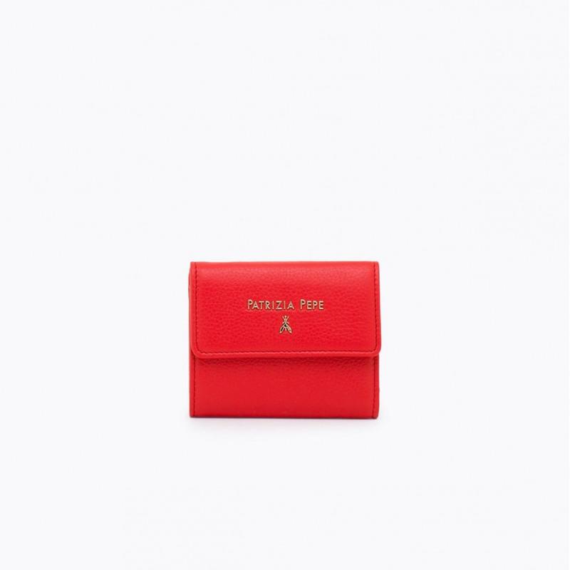 305b68bf80 wallets woman patrizia pepe 2v8545 a4u8r631 deep mars red 4210