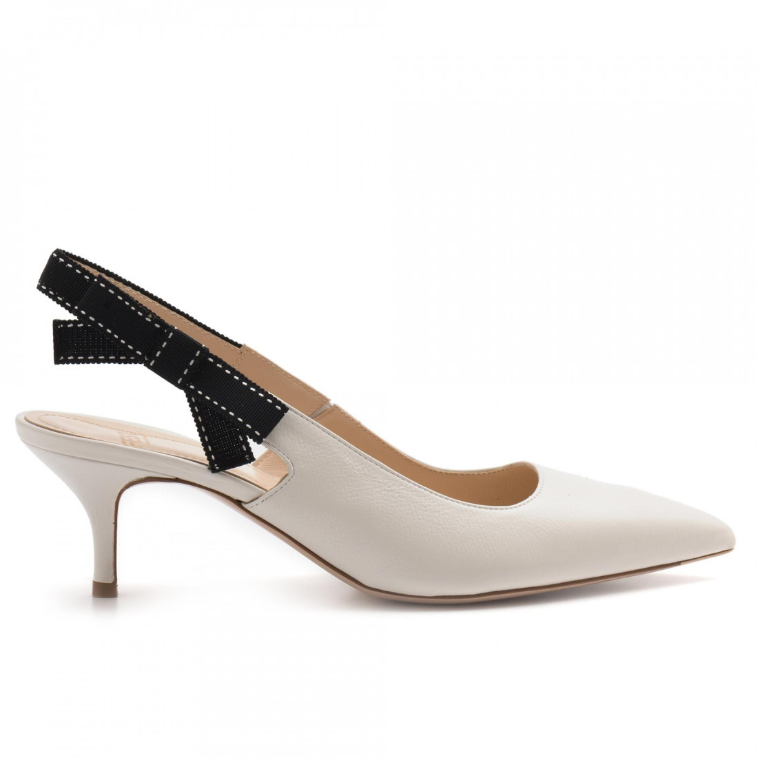 eb41d65b ... molly sling back in butter leather. pumps woman roberto festa  mollymakai burro 3335